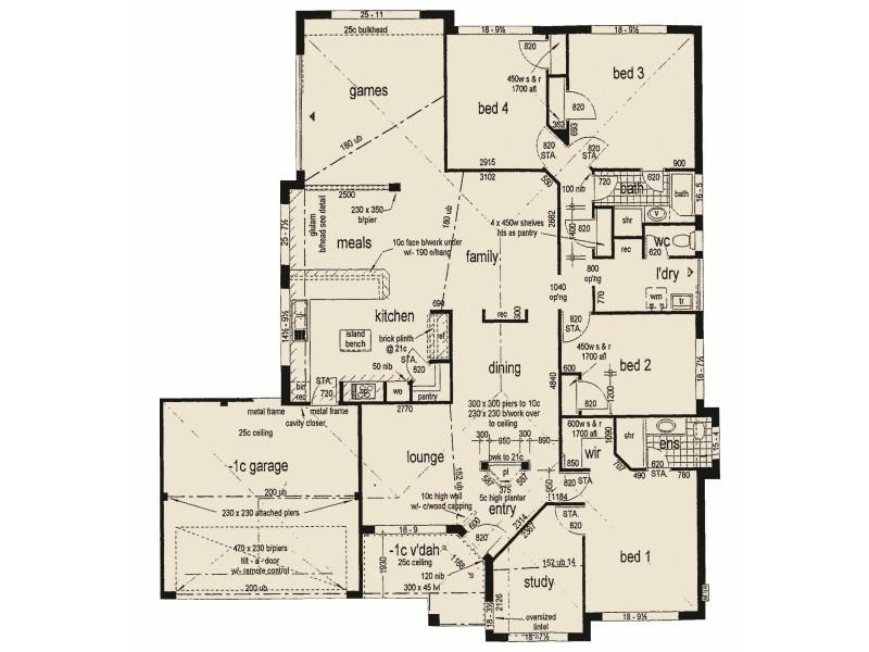 3 Lambrook Mews, Erskine WA 6210 Floorplan
