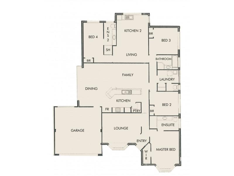 24 Grayswood Retreat, Erskine WA 6210 Floorplan