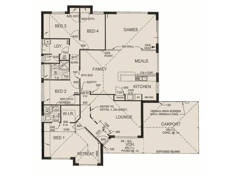99 Willoughbridge Crescent, Erskine WA 6210 Floorplan