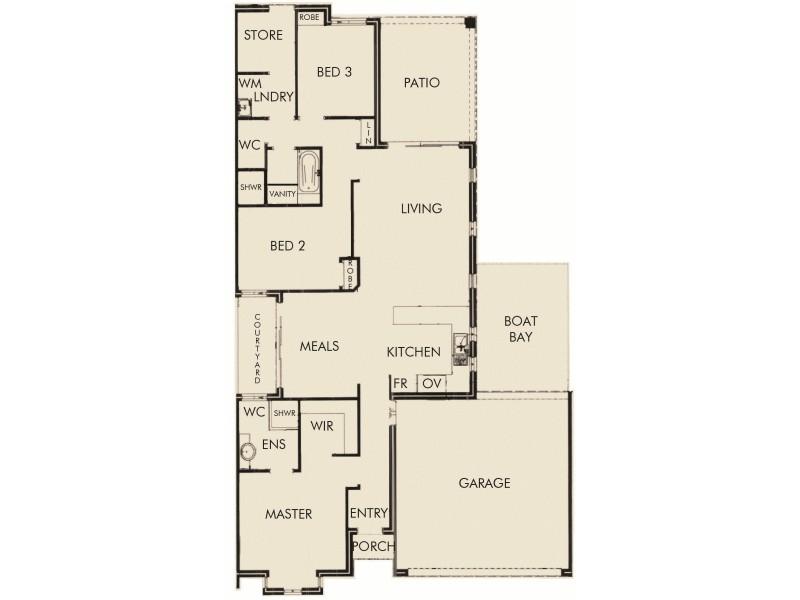 39/5 Bower Drive, Erskine WA 6210 Floorplan