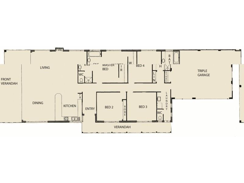 104 Culeenup Road, North Yunderup WA 6208 Floorplan