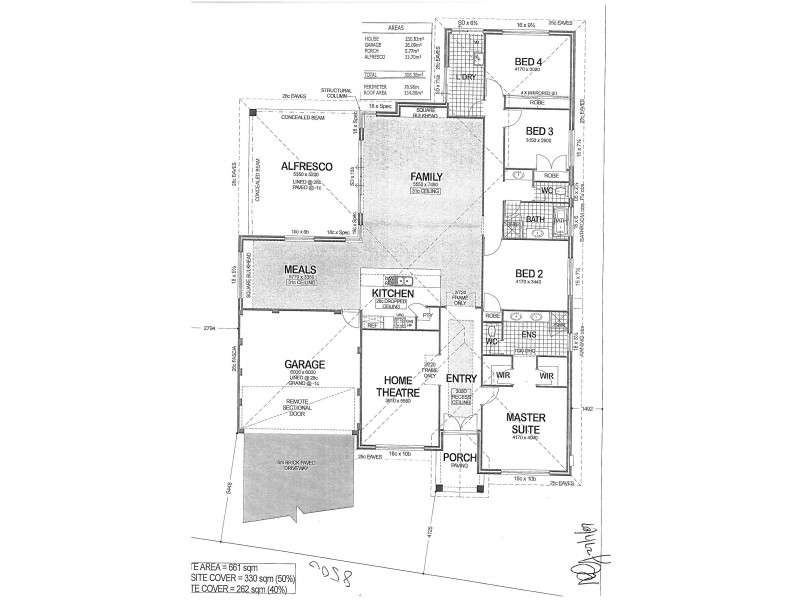 11 Samphire Turn, Beeliar WA 6164 Floorplan