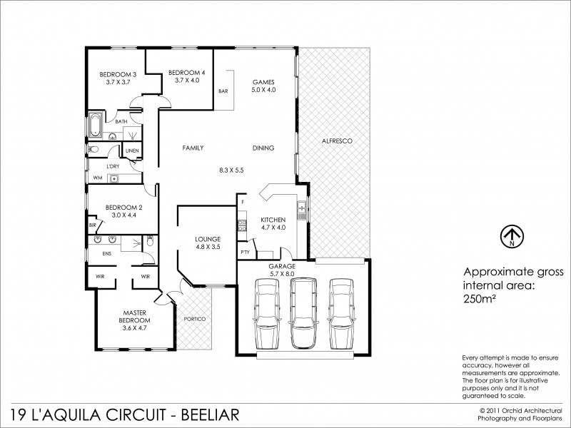 19 L'Aquila Circle, Beeliar WA 6164 Floorplan