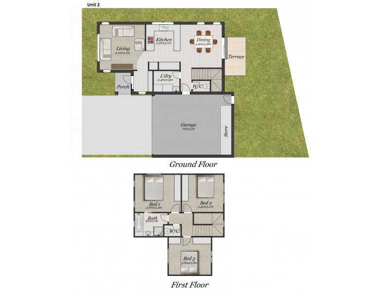 2/9-13 Holloway Road, Croydon North VIC 3136 Floorplan