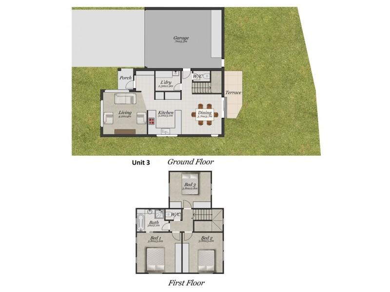 3/9-13 Holloway Road, Croydon North VIC 3136 Floorplan