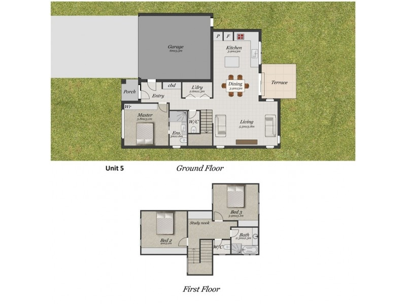 5/9-13 Holloway Road, Croydon North VIC 3136 Floorplan