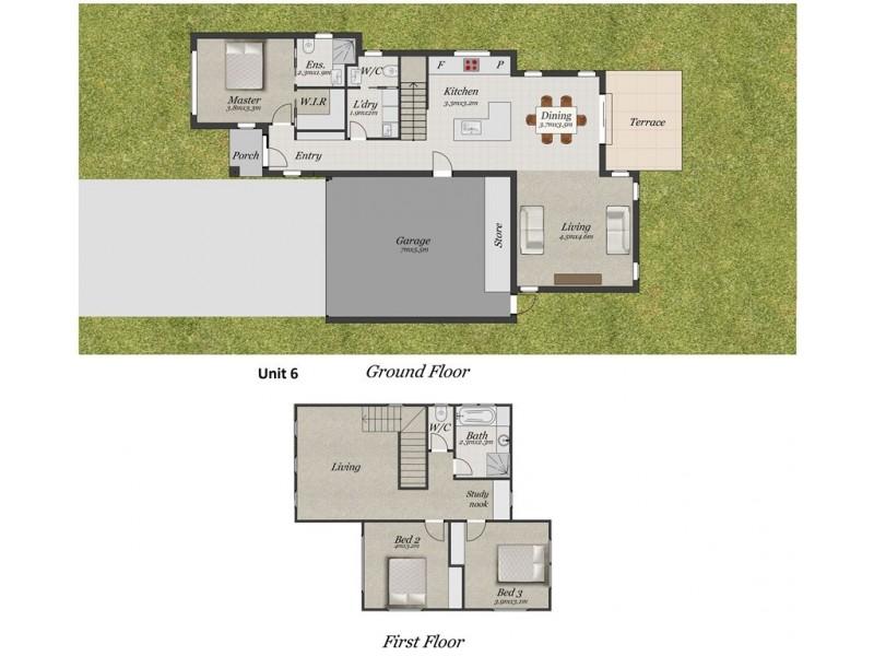 6/9-13 Holloway Road, Croydon North VIC 3136 Floorplan