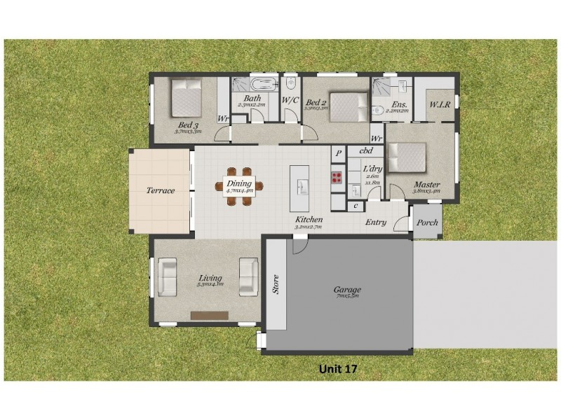 17/9-13 Holloway Road, Croydon North VIC 3136 Floorplan