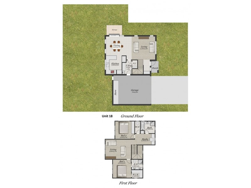 18/9-13 Holloway Road, Croydon North VIC 3136 Floorplan