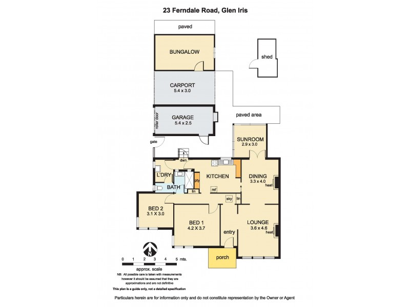 23 Ferndale Road, Glen Iris VIC 3146 Floorplan