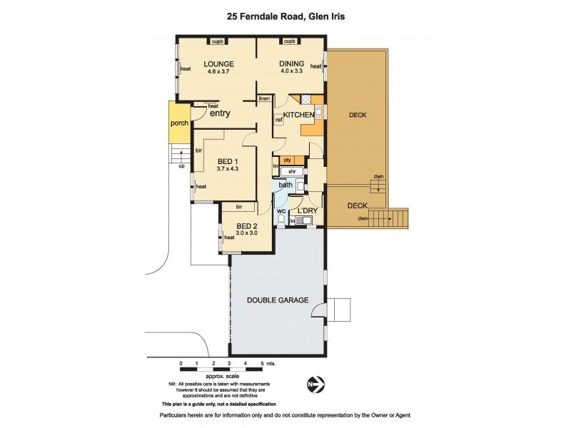 23 & 25 Ferndale Road, Glen Iris VIC 3146 Floorplan