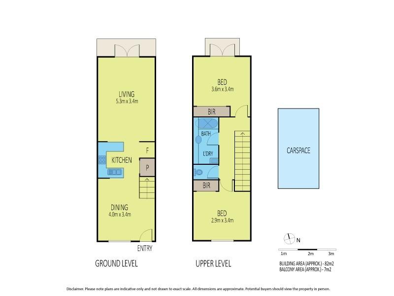 14/2 Ballarat Road, Footscray VIC 3011 Floorplan