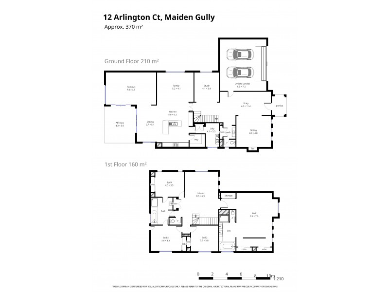 12 Arlington Court, Maiden Gully VIC 3551 Floorplan