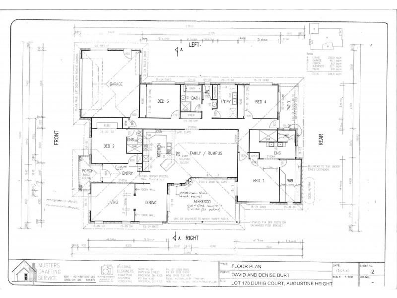 19 Duhig Court, Augustine Heights QLD 4300 Floorplan