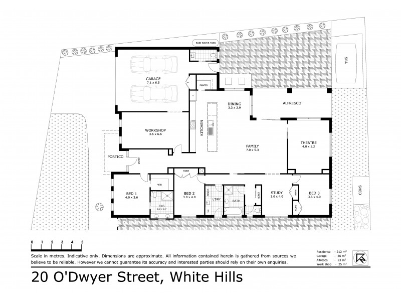 20 O'Dwyer Street, White Hills VIC 3550 Floorplan