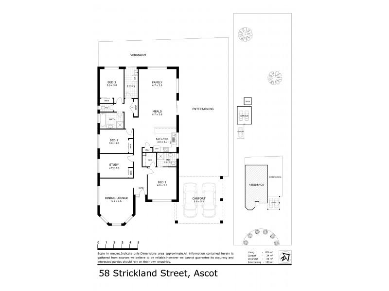 58 Strickland Street, Ascot VIC 3551 Floorplan
