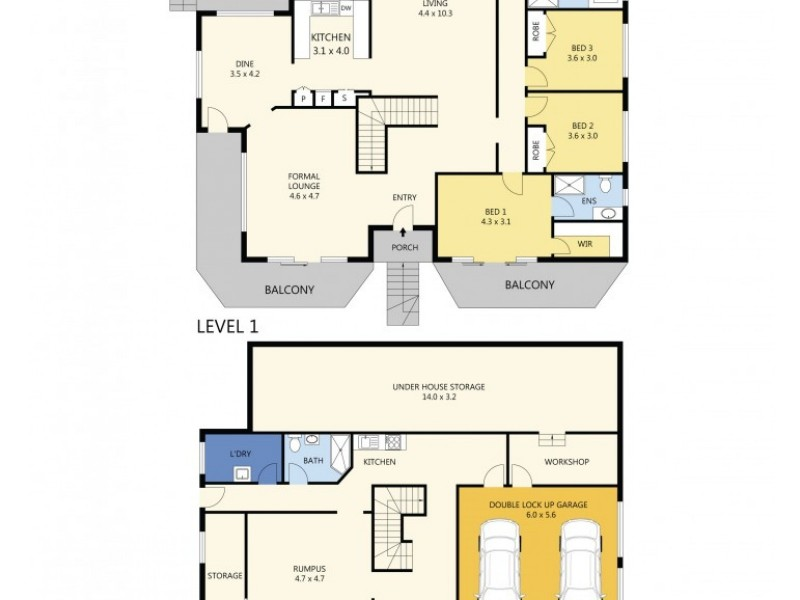 40 Helena Road, Cecil Hills NSW 2171 Floorplan