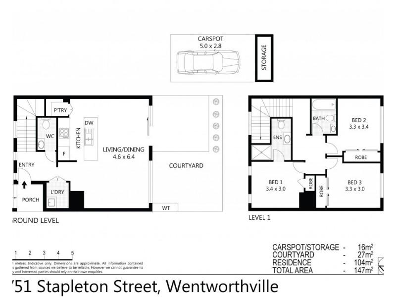 1/51 Stapleton Street, Wentworthville NSW 2145 Floorplan