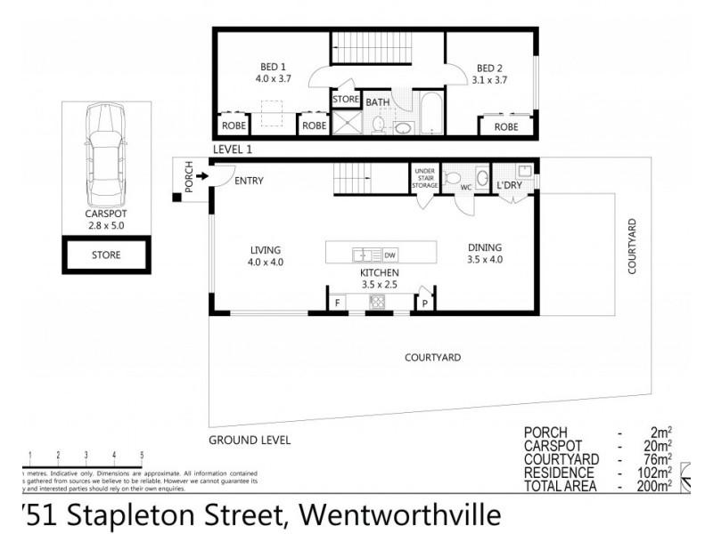 6/51 Stapleton Street, Wentworthville NSW 2145 Floorplan