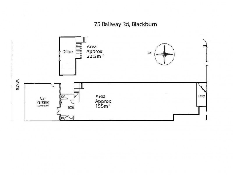 75 Railway Road, Blackburn VIC 3130 Floorplan