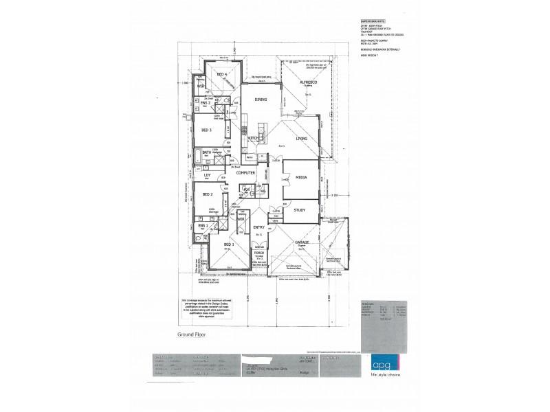 12 Peregrine Circle, Beeliar WA 6164 Floorplan