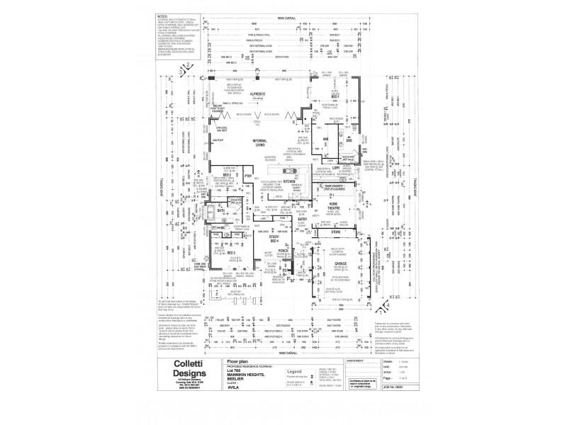 68 Mannikin Heights, Beeliar WA 6164 Floorplan