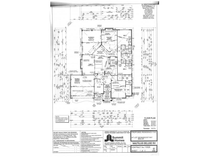 3 Bandicoot Way, Beeliar WA 6164 Floorplan