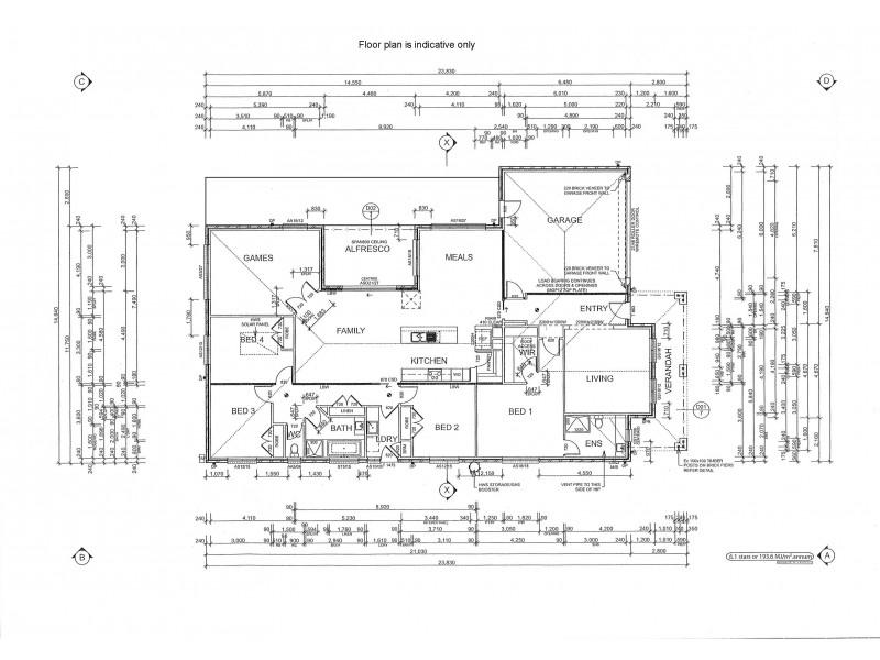 5 Ayden Place, Maiden Gully VIC 3551 Floorplan