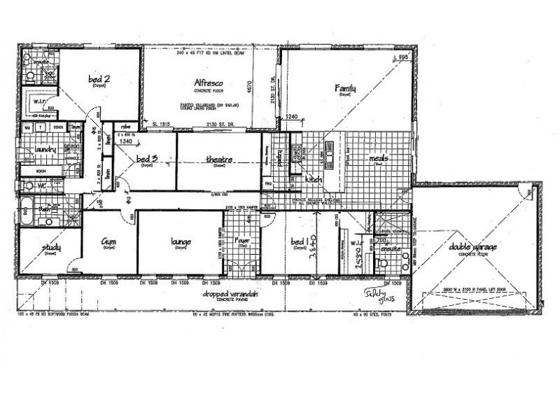 9 Bridle Court, Maiden Gully VIC 3551 Floorplan