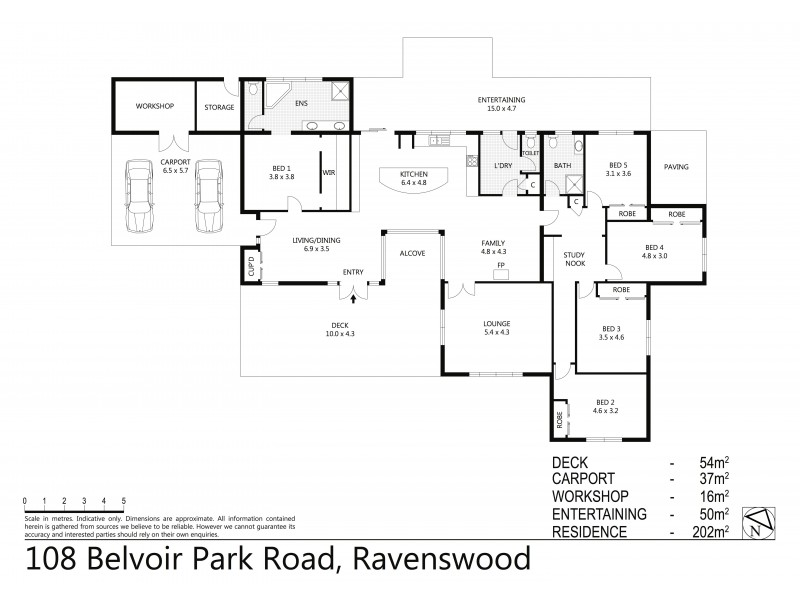108 Belvoir Park Road, Ravenswood VIC 3453 Floorplan