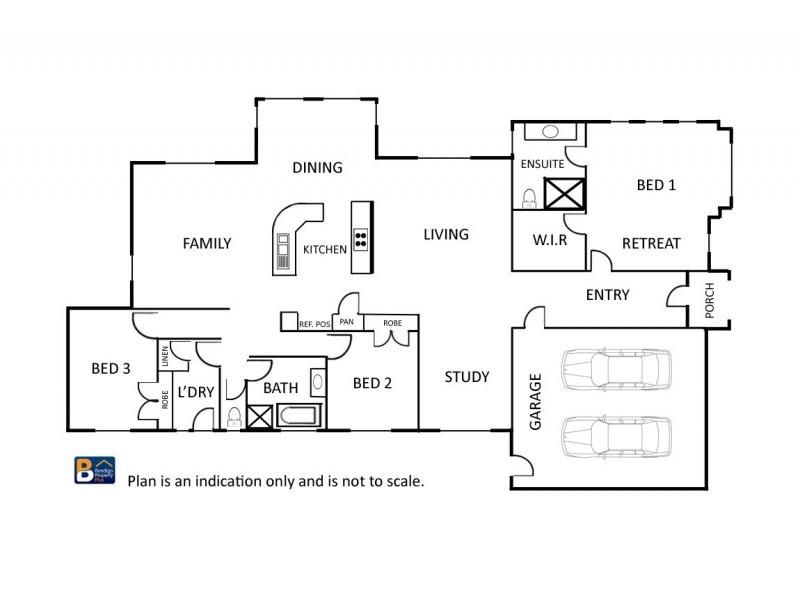 8 Janelle Drive, Maiden Gully VIC 3551 Floorplan