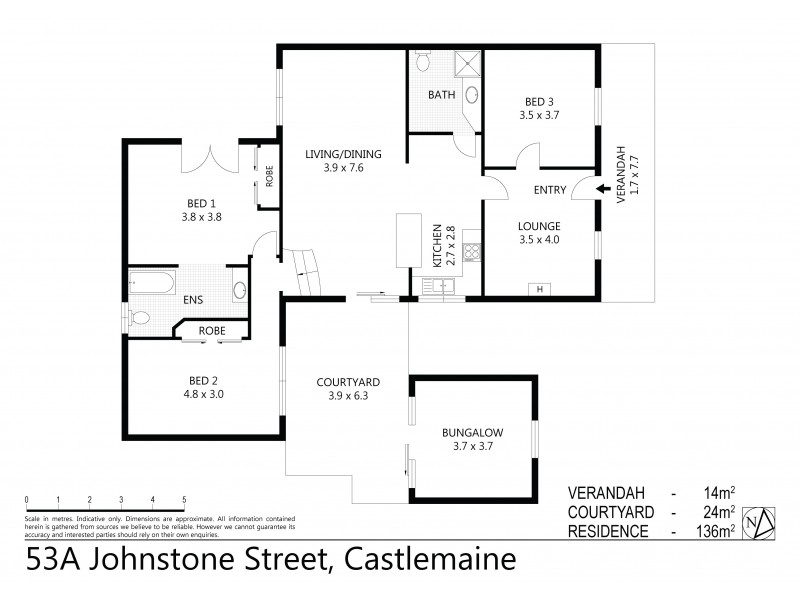 53A Johnstone Street, Castlemaine VIC 3450 Floorplan