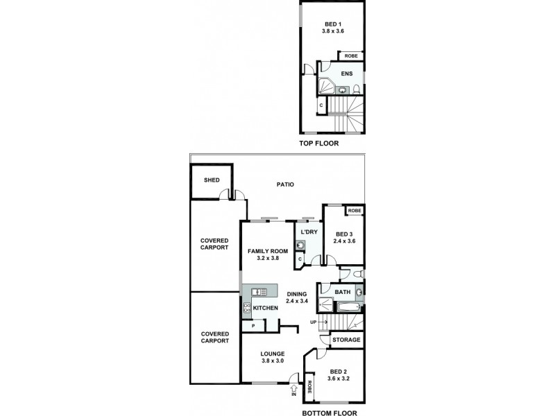 2/169 Swansea Street, East Victoria Park WA 6101 Floorplan