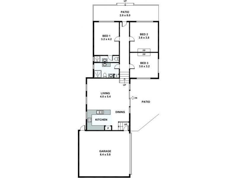 118 Hubert Street, East Victoria Park WA 6101 Floorplan