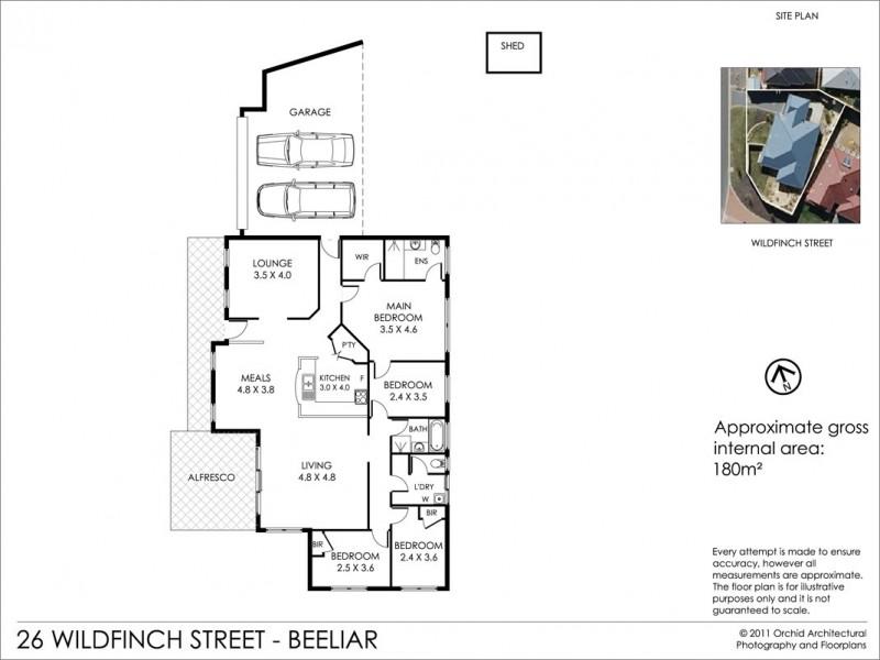 26 Wildfinch Street, Beeliar WA 6164 Floorplan