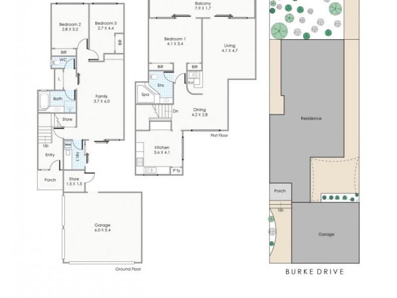 33/240 Burke Drive, Attadale WA 6156 Floorplan