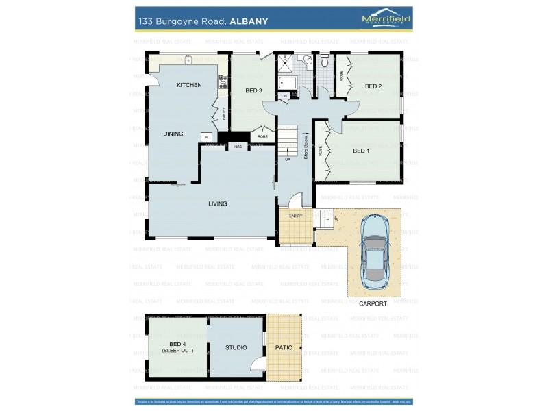 133 Burgoyne Road, Albany WA 6330 Floorplan