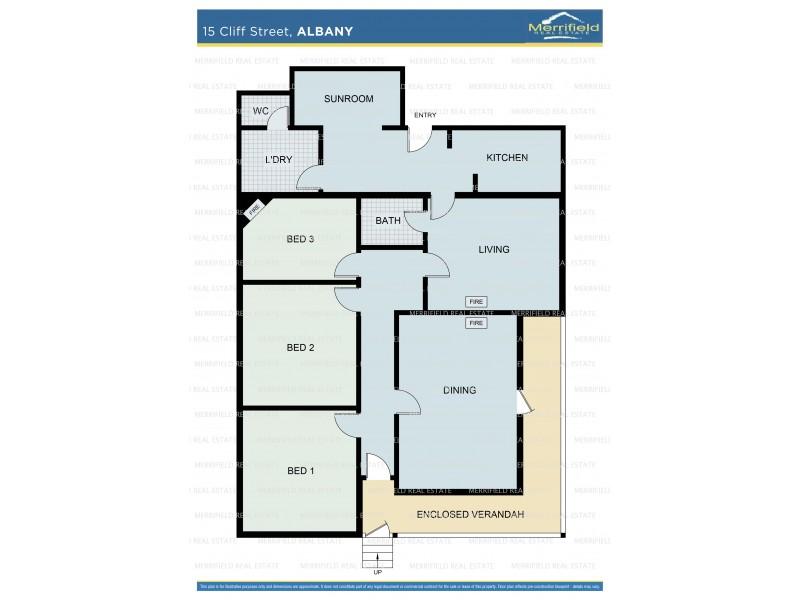 15 Cliff Street, Albany WA 6330 Floorplan