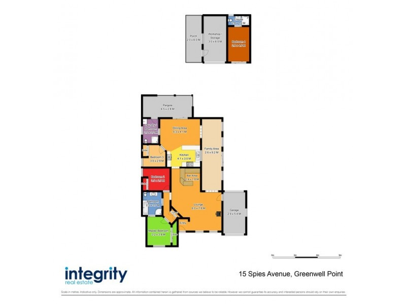 15 Spies Avenue, Greenwell Point NSW 2540 Floorplan