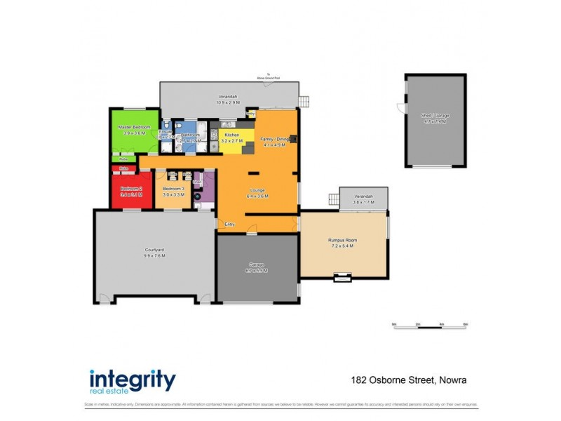 182 – 184 Osborne Street, Nowra NSW 2541 Floorplan