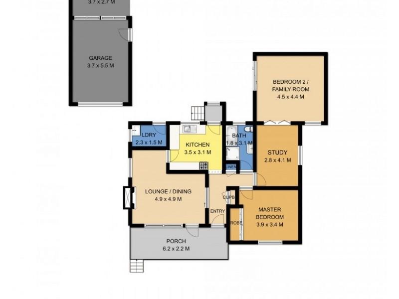 62 Jervis Street, Nowra NSW 2541 Floorplan