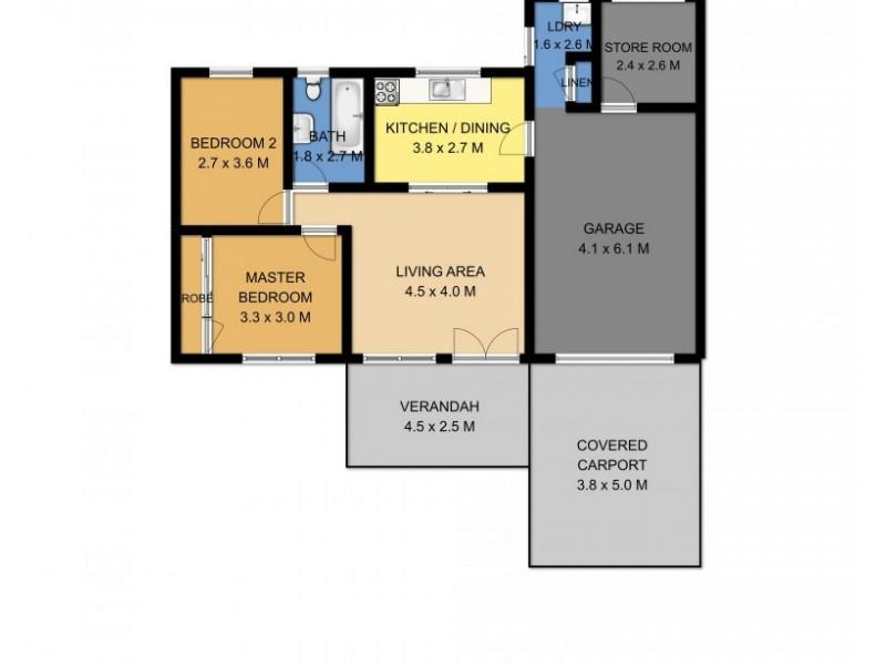 142 Plunkett Street, Nowra NSW 2541 Floorplan