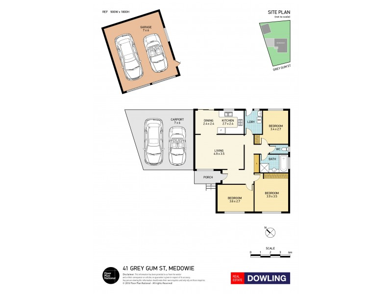 41 Grey Gum Street, Medowie NSW 2318 Floorplan