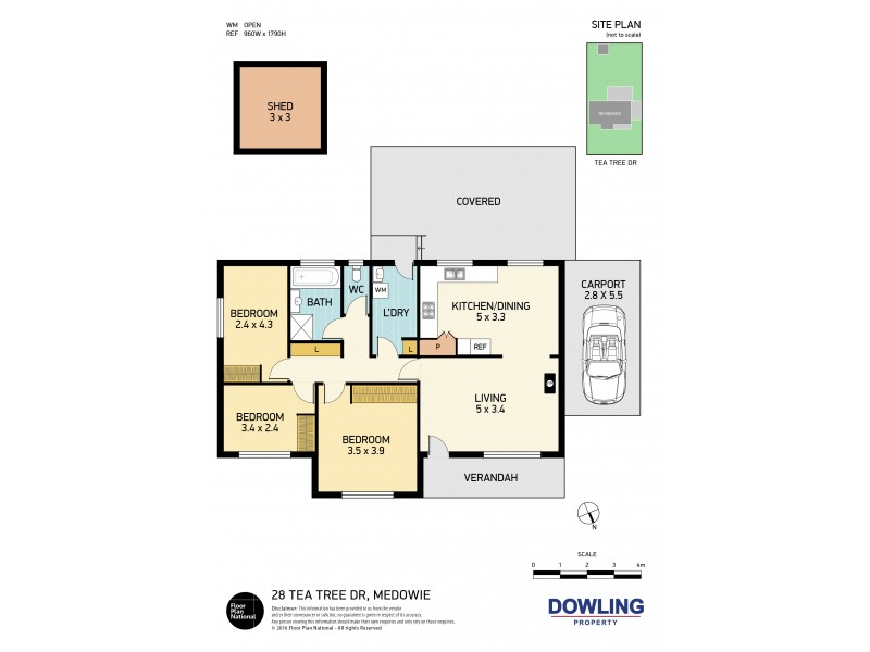 28 Tea Tree Drive, Medowie NSW 2318 Floorplan