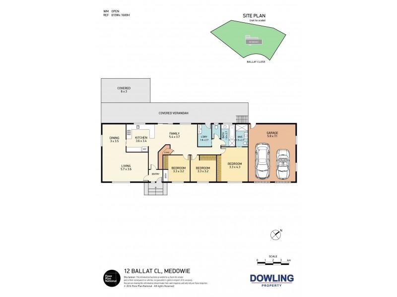 12 Ballat Close, Medowie NSW 2318 Floorplan