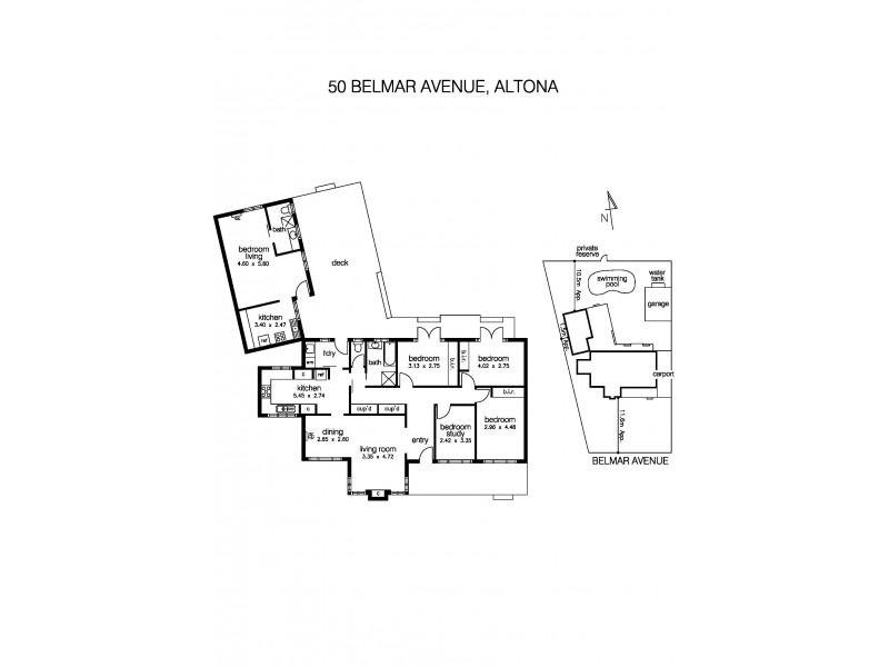 50 Belmar Avenue, Altona VIC 3018 Floorplan
