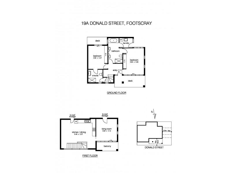 19A Donald Street, Footscray VIC 3011 Floorplan