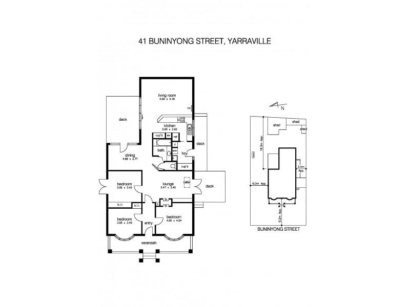 41 Buninyong Street, Yarraville VIC 3013 Floorplan