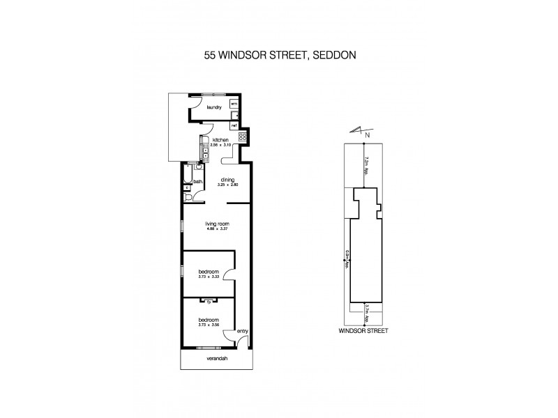 55 Windsor Street, Seddon VIC 3011 Floorplan