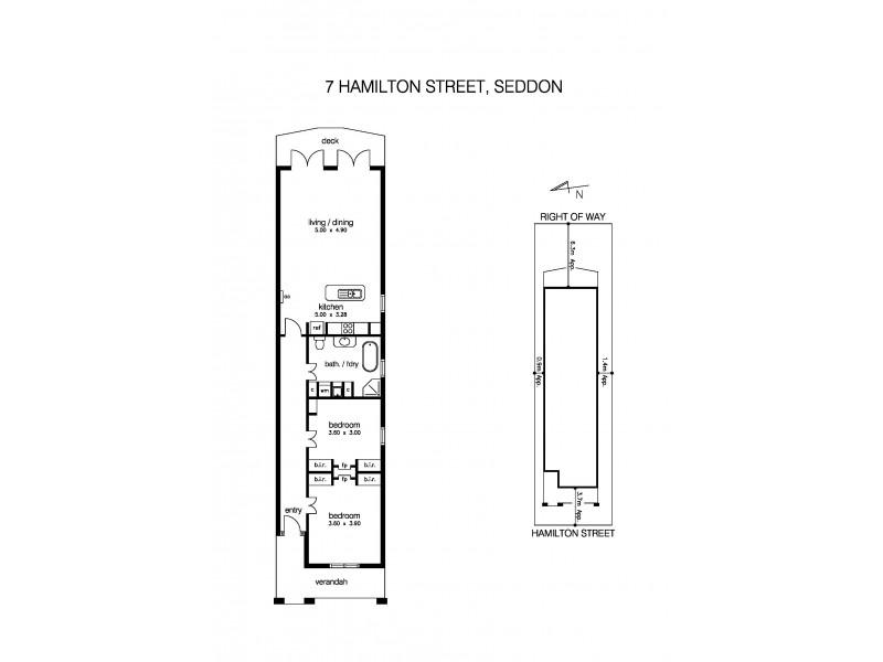 7 Hamilton Street, Seddon VIC 3011 Floorplan